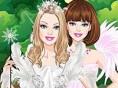 Neue Kostenlose Mädchen Spiele spielen White Swan Bride Dress Up - In diesem süßen M