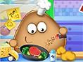 Neue Kostenlose Pou Spiele spielen Pou Real Cooking- In diesem süßenPou Spiel helft ihr Pou beim Ko