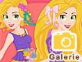 Neue Kostenlose Mädchenspiele spielen Now and Then Rapunzel Sweet Sixteen - In diesem sü&s