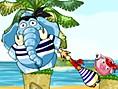 Neue Kostenlose Denkspiele spielen Snoring 3 Treasure Island - In diesem süßen Denkspiel