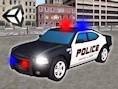 3D Polis Araç Parkı