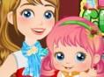 Neue Kostenlose Babyspiele spielen Baby Alice Christmas - In diesem süßen Babyspiel