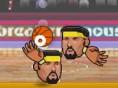 Neue Kostenlose Sportspiele spielen Sports Heads Basketball - In diesem spannenden Sportspielf