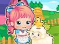 Ücretsiz Çiftlik Oyunlar? Online Bu sefer Bebek Alice Çiftlikte! Oyun fare ile oy