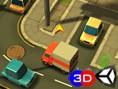 Ücretsiz Araba ve Park Etme Oyunlar? Online Toon 3D Parking - Delivery Dash üç boyu