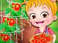 Ücretsiz Çiftçi ve Nahçe Oyunlar? Baby Hazel Tomato Farming, Bebek Hazel: