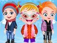 Neue Kostenlose Kinderspiele spielen In diesem süßen Kinderspiel begleitest mal wieder Ba