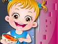 En ?yi Bebek Bak?c?s? Oyunlar? Online Baby Hazel Kitchen Fun, Hazel Bebek karde?i ile evde yanl?z ve