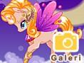 Bedava K?z Oyunlar? Online Unicorn Fantasy, Tek boynuzlu fantastik at?n süsünü yap?p