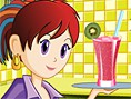 En Yeni Yemek ve Pasta Oyunlar? Online Sara's Cooking Class: Fruit Smoothie, Sara ile mutfa?a gi
