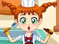 En Yeni K?z Oyunlar? Online Clumsy Chef Laundry, A?ç? k?z?n elbiselerinin y?kan?p üt&uum
