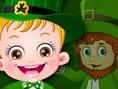 Bedava Bebek ve K?z Oyunlar? Online Baby Hazel St. Patrick's Day, Hazel Bebek yine görev ba