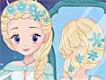 Beauty Queen Wedding Braids