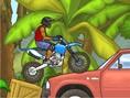 Bedava Yar?? Parkur Oyunlar? Online Naija Motocross, Naija Motorcusu ile zorlu bir serüvene haz?r m?
