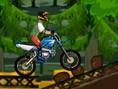 Bedava Yar?? Oyunlar? Online Jungle Ride, orman motorcusu zorlu parkurda engellere tak?lmadan b&ouml