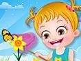 En Yeni Bak?c? Oyunlar? Online Baby Hazel Spring Time, Hazel bebek ile ilkbahara haz?r m?s?n? O hald