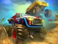 Bedava Yar?? Oyunlar? Online Monster Wheels 2, Dev Teker yine görev ba??nda ve tüm rakiple