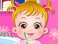 Baby Hazel Zähneputzen