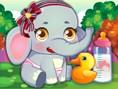 Bedava K?z Oyunlar? Online Baby Elephant Care, minik filimizin bak?ma ihtiyac? var, yard?mc? olmak i