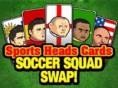Yeni Zeka ve Spor Oyunlar? Sports Heads Cards: Soccer Squad Swap, topçu kafalar? hiç b