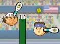 Bedava Spor Oyunlar? Online Sports Heads Tennis Open, koca kafalar?n tenis turnuvas?na ho? geldin! B