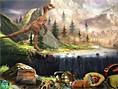 Bedava Zeka Oyunlar? Online Dinosaur Land, dinozorlar?n diyar?nda kay?p e?yalar? bulmaya haz?r m?s?n
