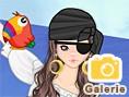 Süßes Piraten-Girl