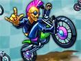 Verrückte Biker - rase von Las Vegas bis auf den Titan! Verrückte Biker ist ein lustiges R