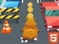 Bedava Html5 Oyunlar? Online Giant Hamster Run, dev Hamster ile engelli ko?uya haz?r m?s?n? O halde