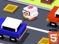 Bedava Html5 Oyunlar? Roads Crossing, atari klasi?i Frogger'?n temel fikrini yepyeni bir seviyey