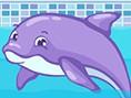 Faul als Delfin