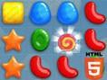 Es regnet Süßigkeiten in Candy Rain, einem lustigen Match3-Game à la Candy Crush.