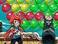 Bedava Html5 Oyunlar? Online Sea Bubble Pirates, ak?ll? bir korsan olarak tüm renkli balonlar?