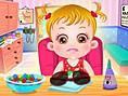 Baby Hazel Augenpflege