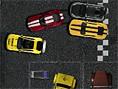 Parkplatz- Rennen