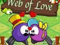 In diesem niedlichen Puzzlespiel musst du zwei verliebten Spinnen helfen, die voneinander getrennt w