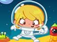 Faul als Astronaut
