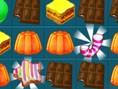 Verbinde- und Match 3 Spiele online spielen Kekse, Kuchen, Süßigkeiten - zur Winterzeit r