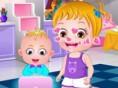 Baby Hazel Geschwistertag