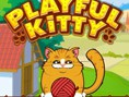 The Playful Kitty is bored! Help to overcome the boredom with a ball of wool. But to reunite the Kit