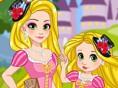 Rapunzel & Daughter Matching Dress