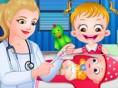 Baby Hazel Impfung