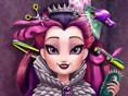 Schöne Königin Frisieren