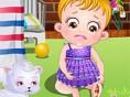 Baby Hazel Beinverletzung