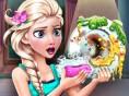 Elsa ile Bulaşık