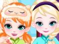 In diesem kostenlosen Mädchenspiel kannst du zwei süßen Schwestern Elsa und Anna onl