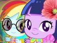 Süße Pony-Babys