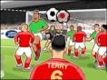 Schieße England zum WM-Titel und versenke so viele Kopfbälle wie möglich. Warte, bis Dein Mitspieler