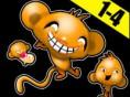 Affenrätsel Level 1-4 - mache deinen Affen glücklich! Affenrätsel Level 1-4 ist ein t