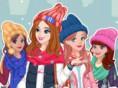 Winter Topmodel - style vier Freundinnen für die kalte Jahreszeit! Winter Topmodel ist ein tren